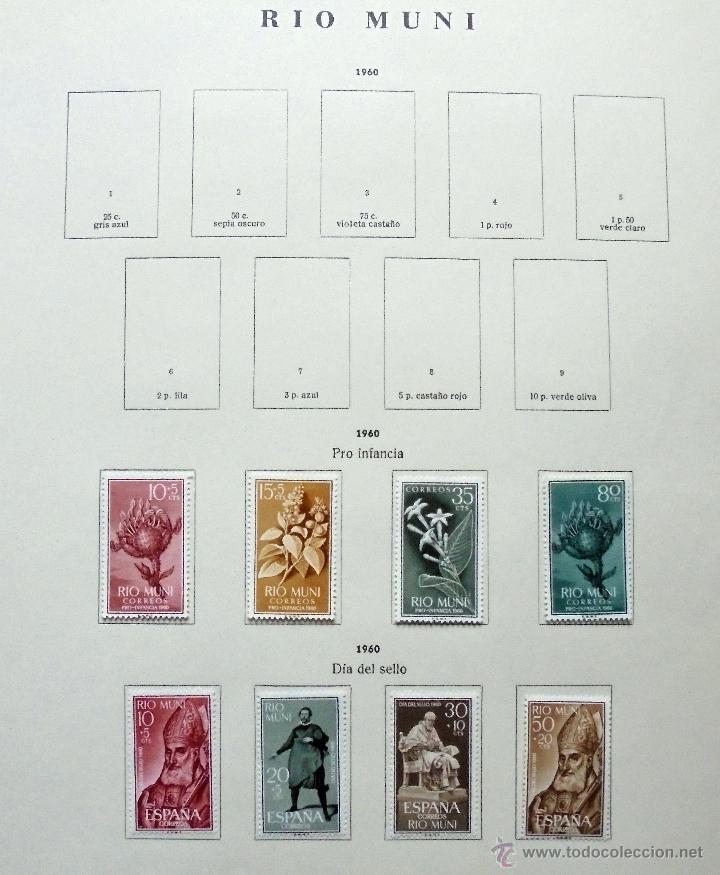 RÍO MUNI,ESPAÑA.LOTE DE SELLOS NUEVOS 1960/66 (Sellos - España - Colonias Españolas y Dependencias - África - Río Muni)