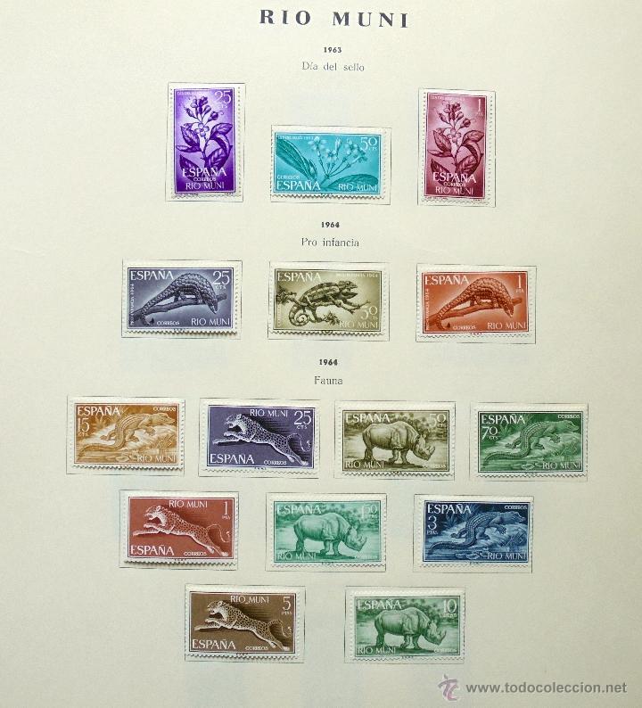 Sellos: Río Muni,España.Lote de sellos nuevos 1960/66 - Foto 4 - 49895610