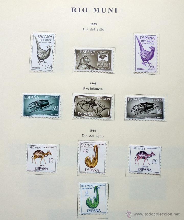 Sellos: Río Muni,España.Lote de sellos nuevos 1960/66 - Foto 6 - 49895610