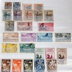 Sellos: LOTE DE SELLOS DE GUINEA ESPAÑOLA. Lote 50161296