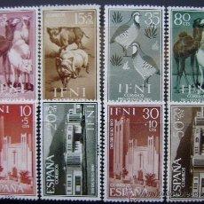 Sellos: COLONIAS ESPAÑOLAS - IFNI - EDIFIL Nº 159/62 + 172/75 NUEVOS (**) SIN FIJASELLO. Lote 50165965