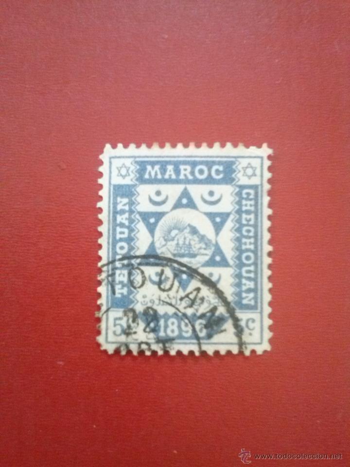 MARRUECOS CORREO LOCAL EN LA ZONA NORTE: EDIFIL Nº 40 , (YVERT Nº 139) (Sellos - España - Colonias Españolas y Dependencias - África - Marruecos)