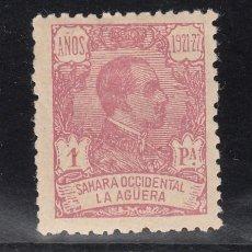 Sellos: ,LA AGUERA 24 CON CHARNELA, ALFONSO XIII,. Lote 50220533