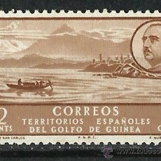 Sellos: ESPAÑA (GUINEA) - 1949 - EDIFIL 277** MNH. Lote 255507000