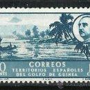 Sellos: ESPAÑA (GUINEA) - 1949 - EDIFIL 279** MNH. Lote 165433802