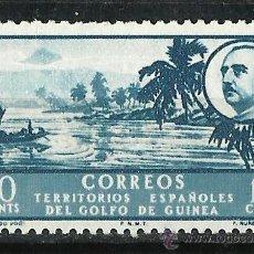 Sellos: ESPAÑA (GUINEA) - 1949 - EDIFIL 279** MNH. Lote 261579315