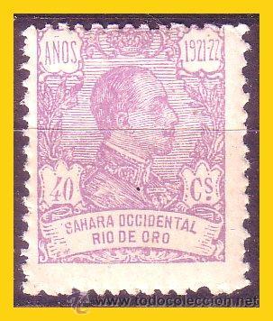 RIO DE ORO 1921 ALFONSO XIII, EDIFIL Nº 138 * * (Sellos - España - Colonias Españolas y Dependencias - África - Río de Oro)