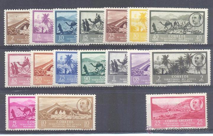 AFRICA OCCIDENTAL Nº3/19 NUEVO CON CHARNELA (Sellos - España - Colonias Españolas y Dependencias - África - África Occidental)