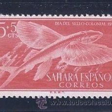 Sellos: EDIFIL 116 SAHARA ESPAÑOL. DIA DEL SELLO 1954. MNH **. Lote 51710539