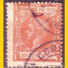 Timbres: FERNANDO POO 1899 ALFONSO XIII, EDIFIL Nº 62 (O). Lote 51811237