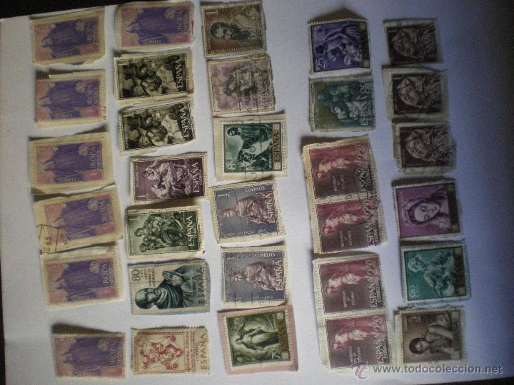 Sellos: lote de 31 sellos de tema religioso-España - Foto 2 - 51931720