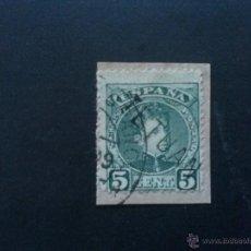Sellos: MARRUECOS EDIFIL 16 , SOBRE FRAGMENTO. Lote 52204586