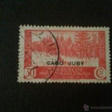 Sellos: CABO JUBY, EDIFIL Nº 80, MATASELLOS CIRCULAR. Lote 52865503