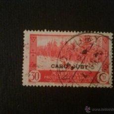 Sellos: CABO JUBY, EDIFIL Nº 80, MATASELLOS CIRCULAR. Lote 52865519