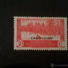 Sellos: CABO JUBY, EDIFIL Nº 80, SIN GOMA. Lote 52865535