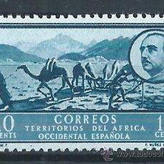 Sellos: R6/ AFRICA POCIDENTAL ESPAÑOLA, GENERAL FRANCO, NUEVO**. Lote 54106170