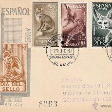 Sellos: EDIFIL 176/9. SPD CIRCULADO A HORNACHUELOS. EN REVERSO ED. 160 CON ROMBO DE PUNTOS S.E.. Lote 54682064