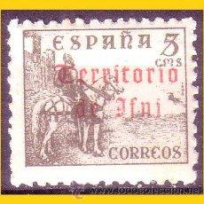 Sellos: IFNI 1948 SELLOS DE ESPAÑA HABILITADOS. EDIFIL Nº 38 * * . Lote 54715086