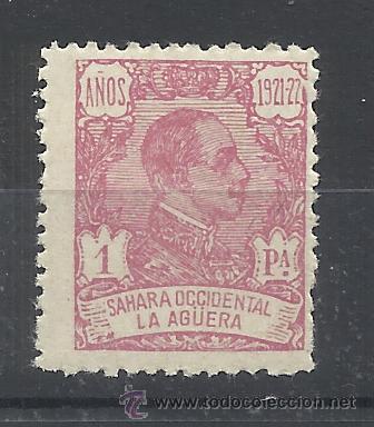 LA AGUERA 1923 ALFONSO XIII EDIFIL 24 NUEVO** VALOR 2016 CATALOGO 24.75 EUROS (Sellos - España - Colonias Españolas y Dependencias - África - La Agüera)