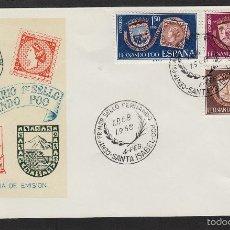 Sellos: FERNANDO POO Nº 262/64 AÑO 1968 - ESCUDOS - SOBRE PRIMER DIA EX COLONIAS . Lote 55368880