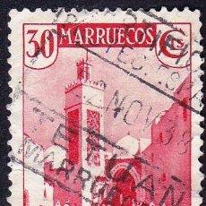 Sellos: MARRUECOS-VISTAS Y PAISAJES/1935-37. Lote 56007866