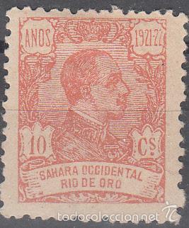 EDIFIL 133. ALFONSO XIII 1921. NUEVO CON FIJASELLOS, (Sellos - España - Colonias Españolas y Dependencias - África - Río de Oro)