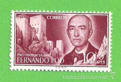 EDIFIL 188. FERNANDO POO - PRO INFANCIA - MANUEL DE FALLA. (1960).** NUEVO Y SIN FIJASELLOS. (Sellos - España - Colonias Españolas y Dependencias - África - Fernando Poo)