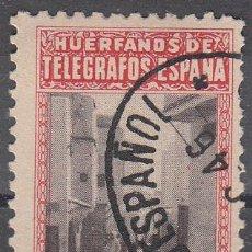 Sellos: HUÉRFANOS DE TELÉGRAFOS. ESPAÑA..OFICINA DE TÁNGER. 50 CTS. USADO.. Lote 56281657