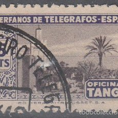 Sellos: HUÉRFANOS DE TELÉGRAFOS. ESPAÑA..OFICINA DE TÁNGER. 5 PTS. USADO.. Lote 56281839