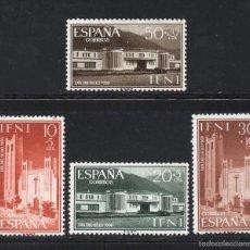 Sellos: IFNI 172/75** - AÑO 1960 - ARQUITECTURA - DÍA DEL SELLO. Lote 56289977