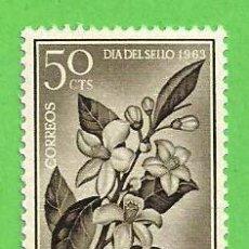 Sellos: EDIFIL 221 - FERNANDO POO - DÍA DEL SELLO - FLOR DE AZAHAR. (1964).** NUEVO SIN FIJASELLOS.. Lote 56397258