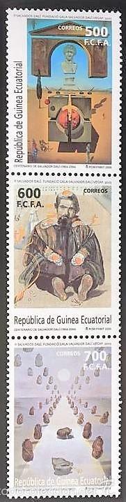 SELLOS GUINEA ECUATORIAL 2005** NUEVOS, CENTENARIO DEL NACIMIENTO DE SALVADOR (Sellos - España - Colonias Españolas y Dependencias - África - Guinea)