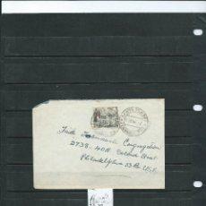 Timbres: SOBRE CIRCULADO DE SANTA ISABEL (FERNANDO POO) A U.S.A. CON SELLO DE GUINEA DEL AÑO 1953 . Lote 58084141