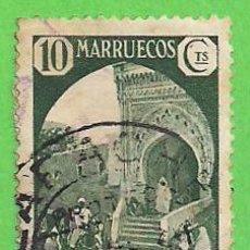 Sellos: EDIFIL 136 - MARRUECOS - VISTAS Y PAISAJES - TETUÁN. (1934).. Lote 58389341