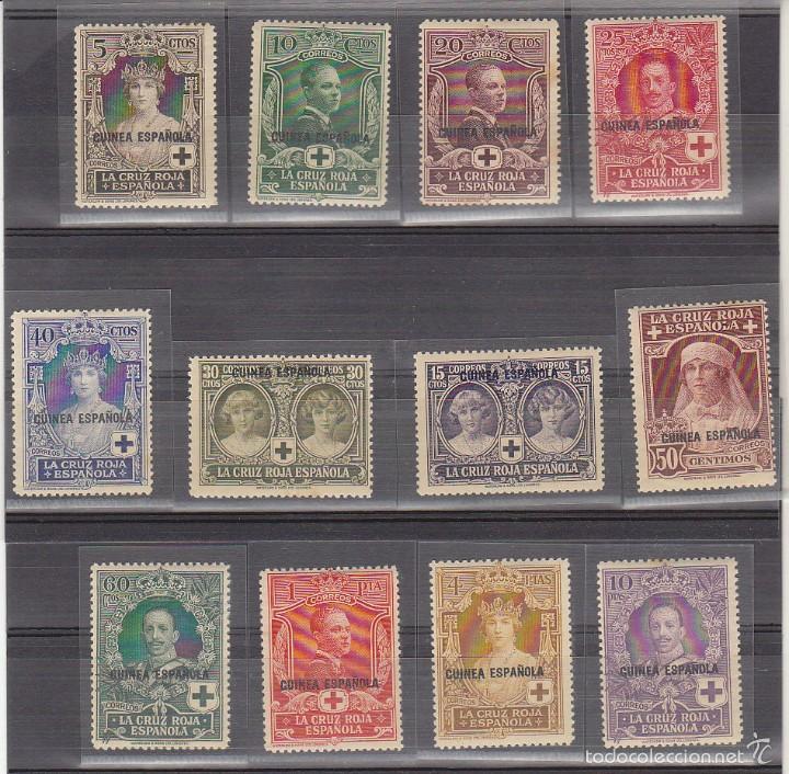 X 179/90 PRO CRUZ ROJA 1926 (Sellos - España - Colonias Españolas y Dependencias - África - Guinea)