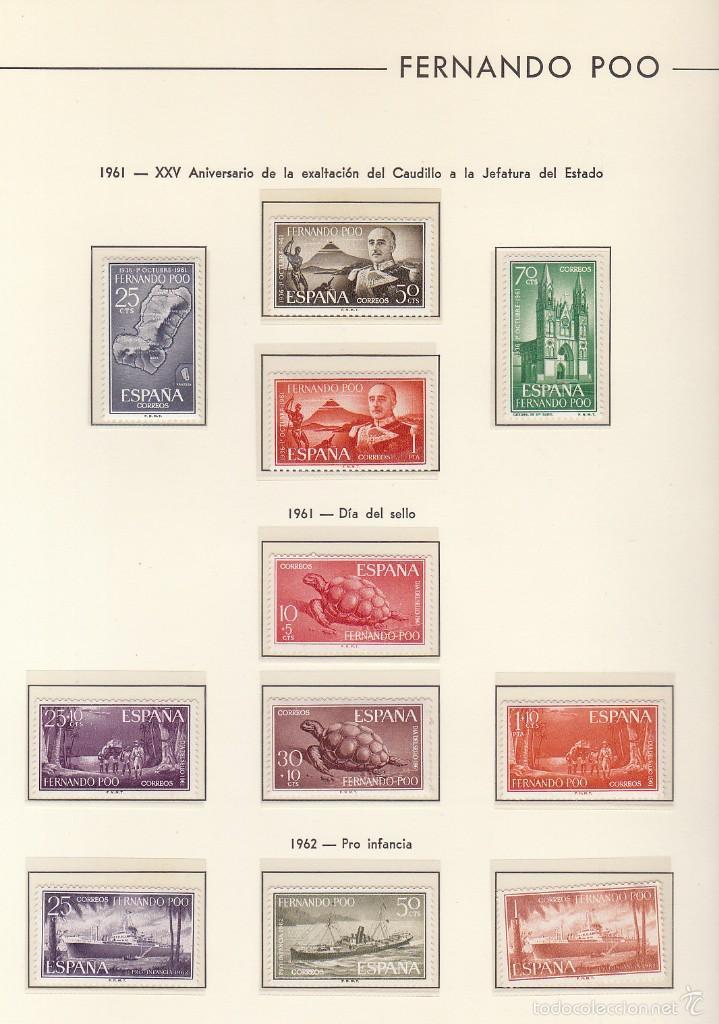 Sellos: RIO MUNI-GUINEA-ECUATORIAL ( 2 ÁLBUMES) - Foto 2 - 60035875