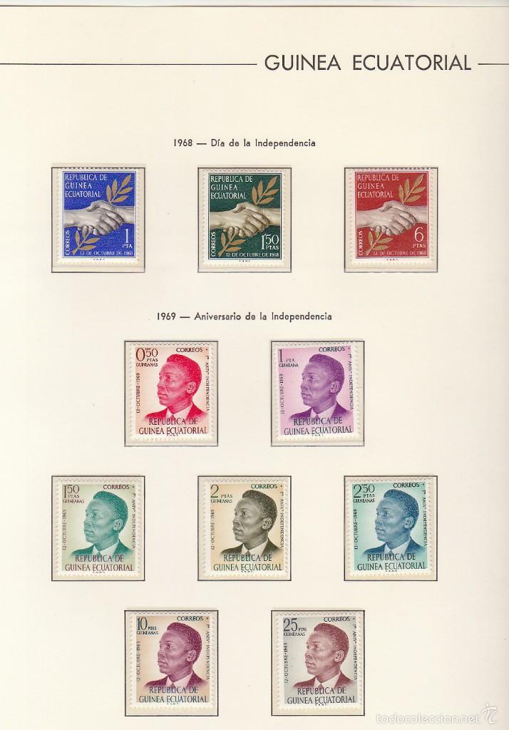 Sellos: RIO MUNI-GUINEA-ECUATORIAL ( 2 ÁLBUMES) - Foto 33 - 60035875