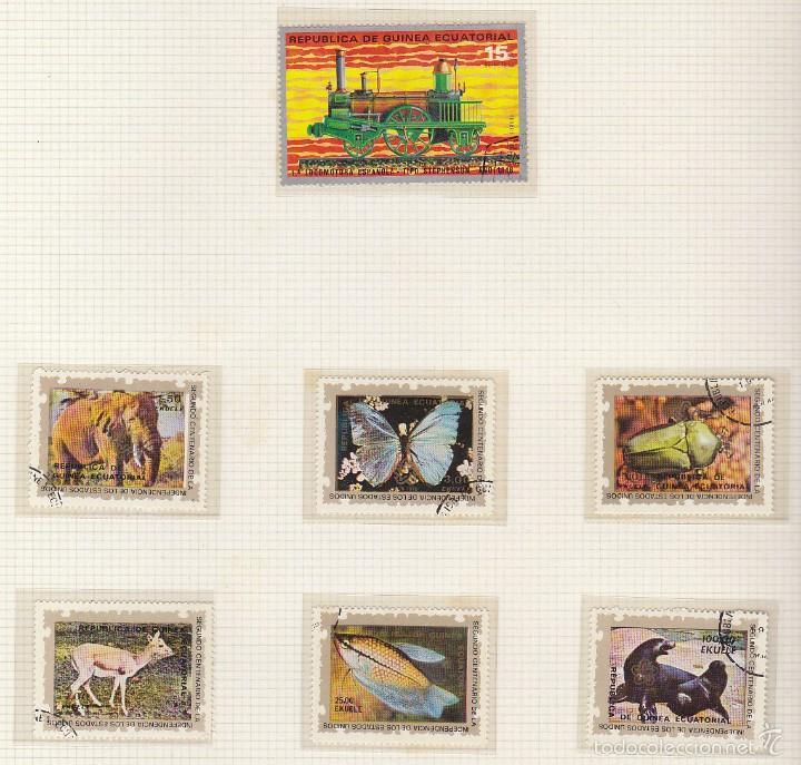 Sellos: RIO MUNI-GUINEA-ECUATORIAL ( 2 ÁLBUMES) - Foto 85 - 60035875
