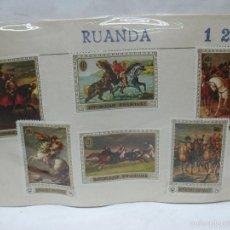 Sellos: LOTE DE 6 SELLOS DE RUANDA. Lote 60510687