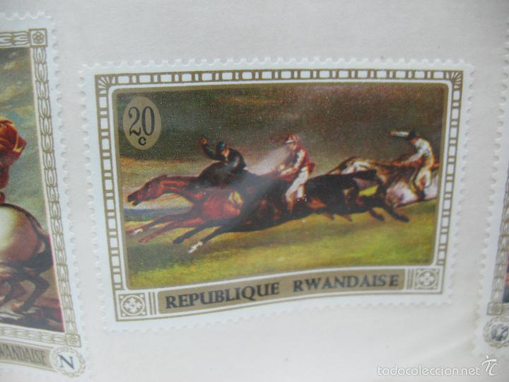 Sellos: Lote de 6 sellos de Ruanda - Foto 4 - 60510687
