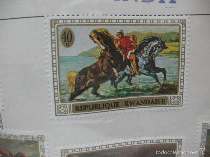 Sellos: Lote de 6 sellos de Ruanda - Foto 5 - 60510687