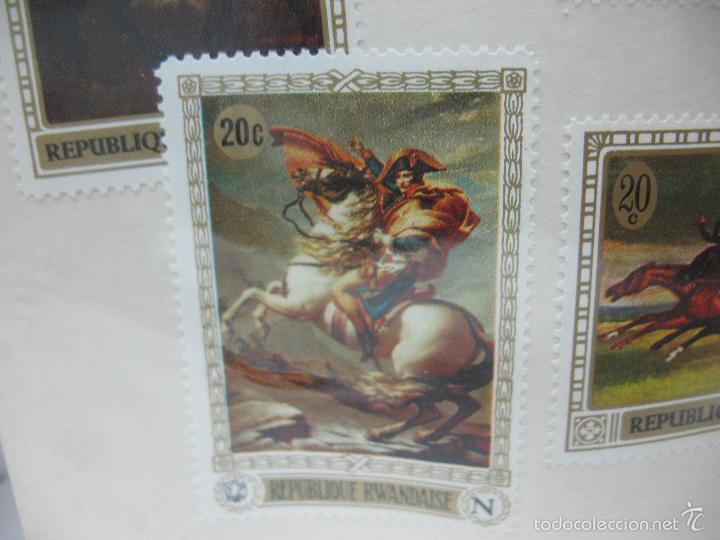 Sellos: Lote de 6 sellos de Ruanda - Foto 6 - 60510687