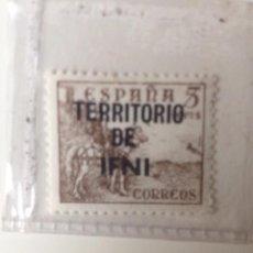 Sellos: SELLO SOBREIMPRESO , TERRITORIO DE IFNI , SIN CIRCULAR. Lote 60702931