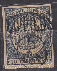 X 48A TIMBRE MÓVIL 1900 (Sellos - España - Colonias Españolas y Dependencias - África - Fernando Poo)