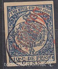 X 48CA TIMBRE MÓVIL 1900 (Sellos - España - Colonias Españolas y Dependencias - África - Fernando Poo)