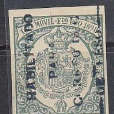 Sellos: X 43C TIMBRE MÓVIL 1898. Lote 61057655