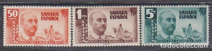 XX 73/5 : VISITA DEL GENERAL FRANCO AÑO 1951 (Sellos - España - Colonias Españolas y Dependencias - África - Ifni)