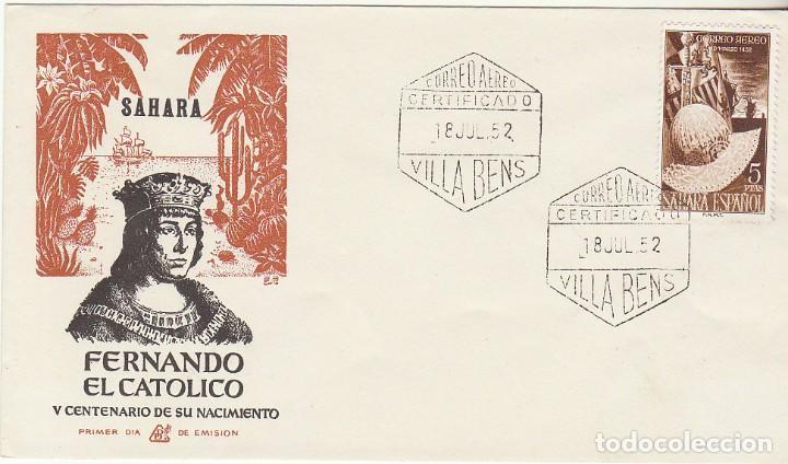 PD : XX 97. A. V CENT. NACIMIENTO DE FERNANDO EL CATÓLICO . 1952 (Sellos - España - Colonias Españolas y Dependencias - África - Sahara)