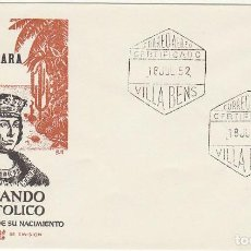 Sellos: PD : XX 97. A. V CENT. NACIMIENTO DE FERNANDO EL CATÓLICO . 1952. Lote 61813064