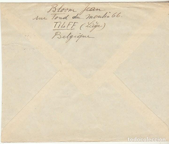 Sellos: CARTA : LIEGE ( BELGICA) a TETUAN 1953 - Foto 2 - 61813964